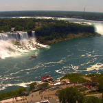 Ниагарский водопад из отеля Sheraton At The Falls