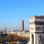 Париж из отеля Radisson Blu Champs-Elysees