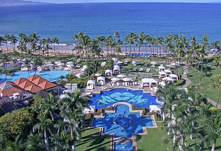 Отель Grand Wailea, A Waldorf Astoria на острове Мауи