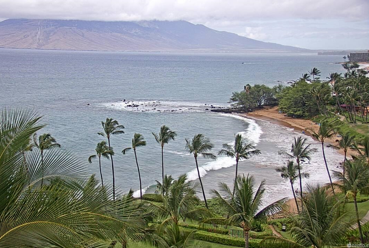 Вид из отеля Wailea Beach - Marriott, Maui на острове Мауи
