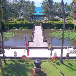 Вид из отеля InterContinental Bali Resort на острове Бали